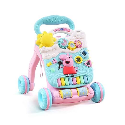 Walker Trolley para niños Ayudando a su bebé a Aprender a Caminar ...
