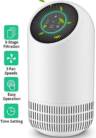 Honati purificador de aire para alergias y mascotas del hogar ...