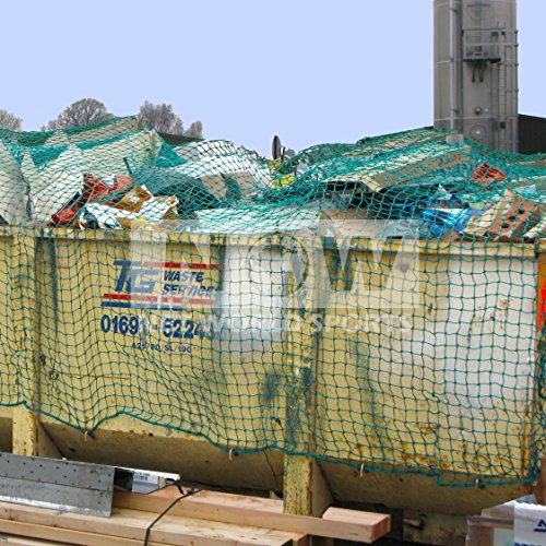 Net World Sports Skip Nets//Trailer Nets//Cargo Nets Green ULTRA HEAVY DUTY **5 SIZES 24ft x 12ft
