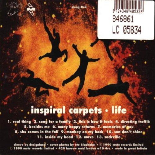 Inspiral Carpets Life You - Carpet Vidalondon