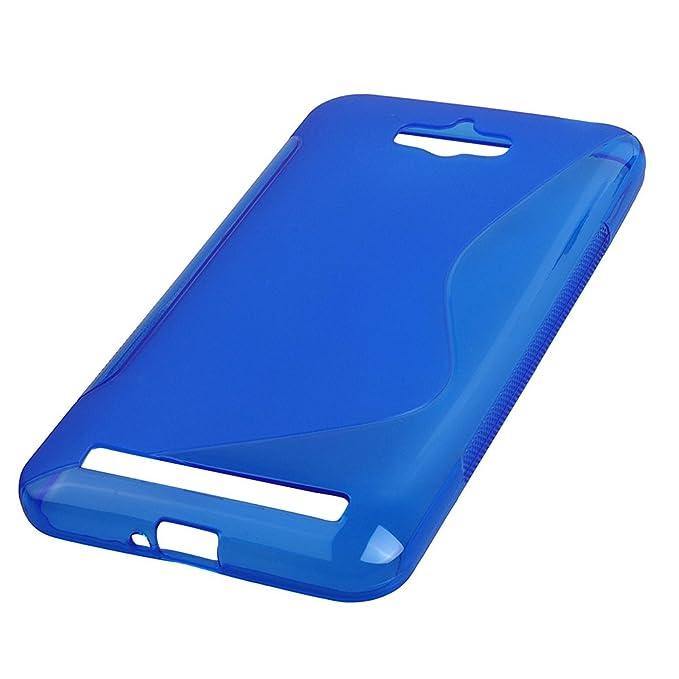 Amazon.com: TOOGOO(R) 5.5, Silicone Case Soft Flexible TPU ...