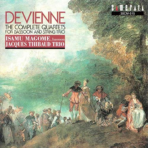 Devienne: The Complete Quartets for Bassoon and String ()