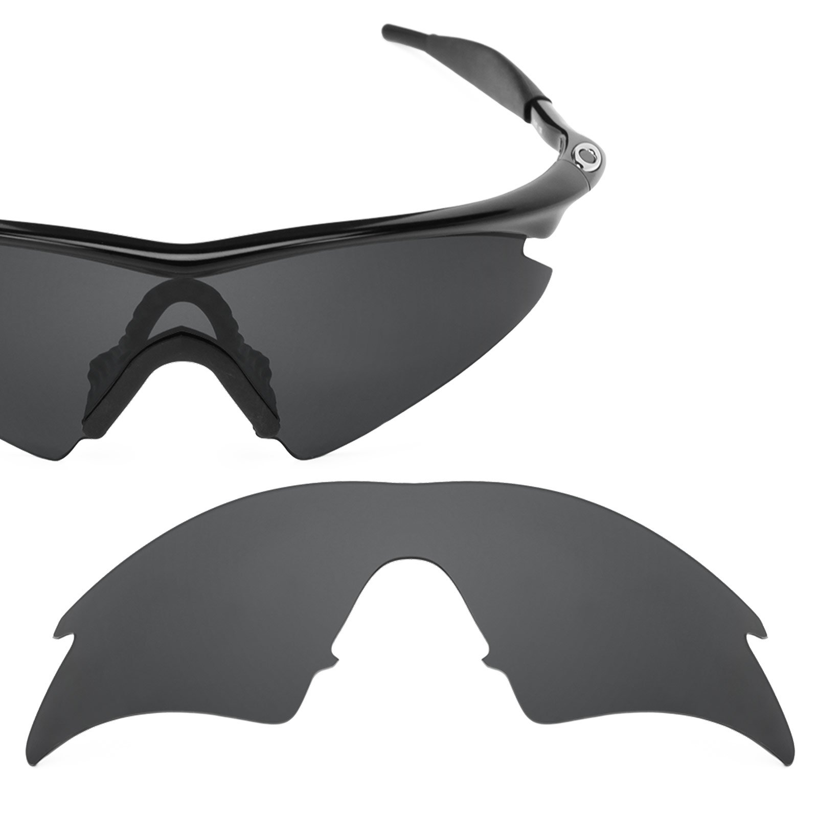Revant Polarized Replacement Lens for Oakley M Frame Sweep Stealth Black