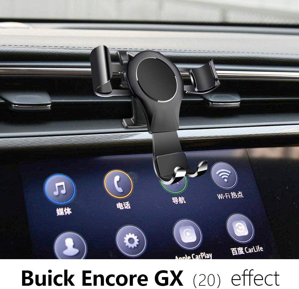 LUNQIN Car Phone Holder for Buick Encore GX 2020 Auto Accessories Navigation Bracket Interior Decoration Mobile Cell Phone Mount