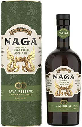 Naga Rum Double Casked Aged Rum of Indonesia 40% - 700 ...