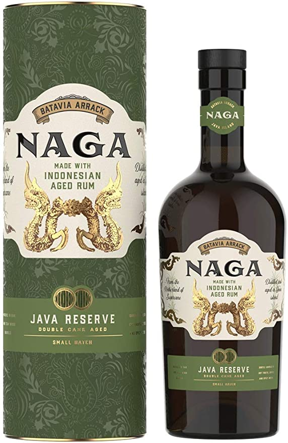 Naga Rum Double Casked Aged Rum of Indonesia 40% - 700 ml in ...