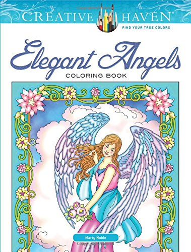 Creative Haven Elegant Angels Coloring Book (Adult Coloring)