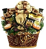 Caffeine Addicts Coffee, Cappuccino and Tea Gift Basket