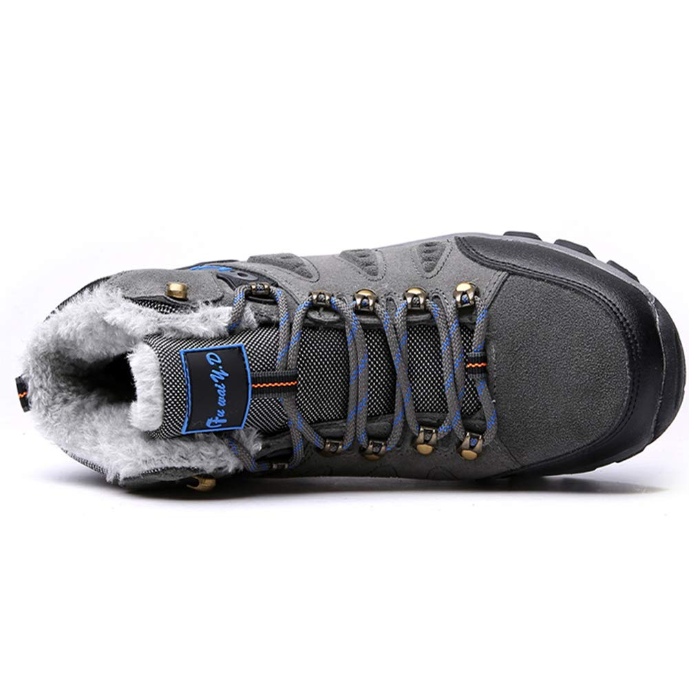 Qianliuk Unisex Ankle Boots Winter warme beil/äufige Schnee Gummistiefel