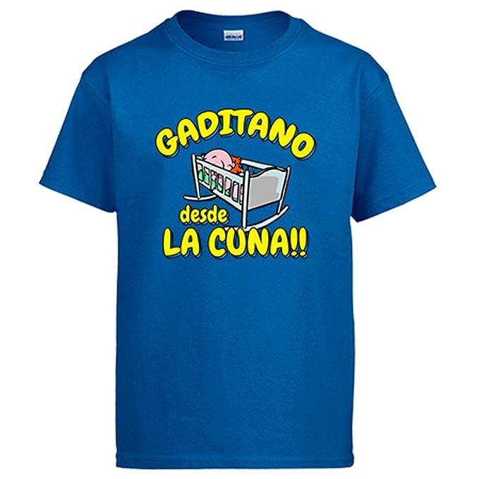 Diver Camisetas Camiseta Gaditano Desde la Cuna Cádiz fútbol ...