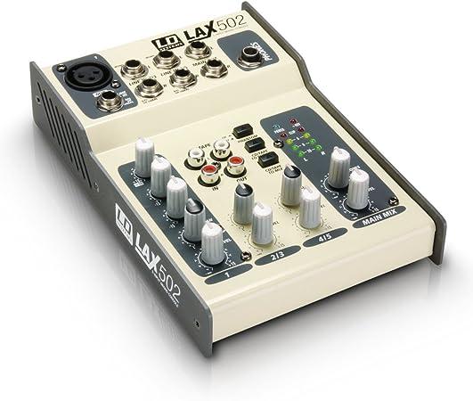 LD Systems LDLAX502 - Mesa de mezclas: Amazon.es ...
