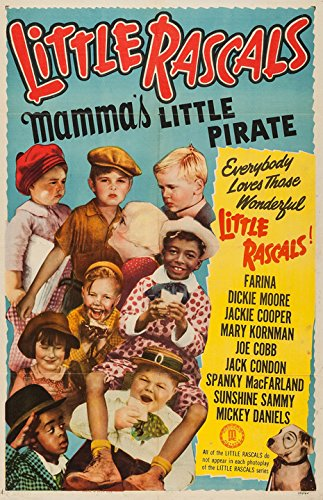 Little Rascals Mamma's Little Pirate Movie Poster Replica Photo Print