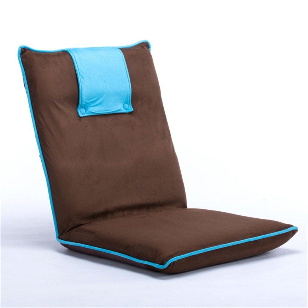楽天 GzH床椅子折りたたみ式ポータブルアウトドアキャンプピクニックLeglessベイウィンドウ椅子 B07DLYK5F8 ブルー ブルー B07DLYK5F8, アタゴ:d77418ef --- cliente.opweb0005.servidorwebfacil.com