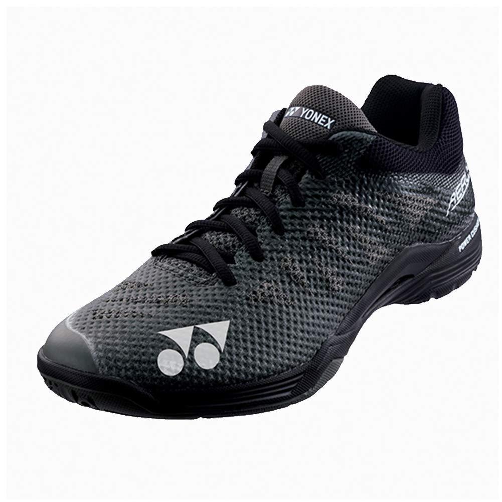 Yonex Power Cushion Aerus 3 Mens Indoor Court Shoe (Black) (9.5) by YONEX