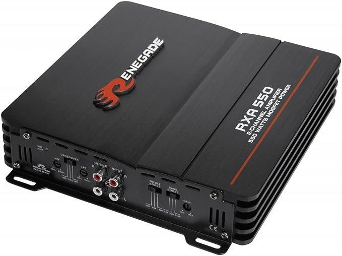 Imagen deRenegade RXA550 - Amplificador de audio (6-12 dB, 5-40000 Hz)
