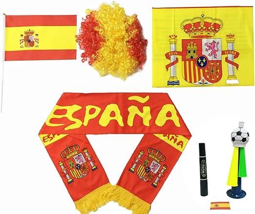 España UEFA EURO 2016, Banderín Español del Equipo/Bufanda Fútbol ...