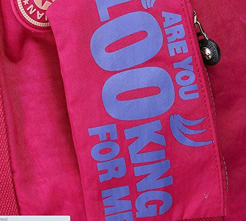 Resistente al agua Crinkle Nylon Deportes Mochila Bolsa de hombro 6220