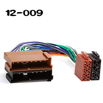 Amazon Wepeculior 12009 Iso Standard Car Radio Wiring Harness. Wepeculior 12009 Iso Standard Car Radio Wiring Harness Stereo Adapter Connector Plug. Jaguar. Jaguar Plugs Harness At Scoala.co
