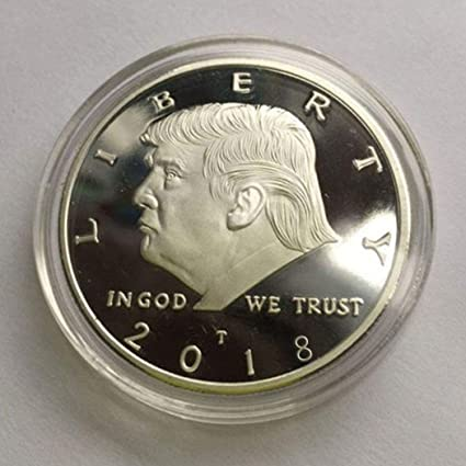 amazon com youcoco new us leader character gold plated coin virtual