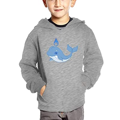 Alask Whale Baby Girl Interesting Sweater Casual Hoodies