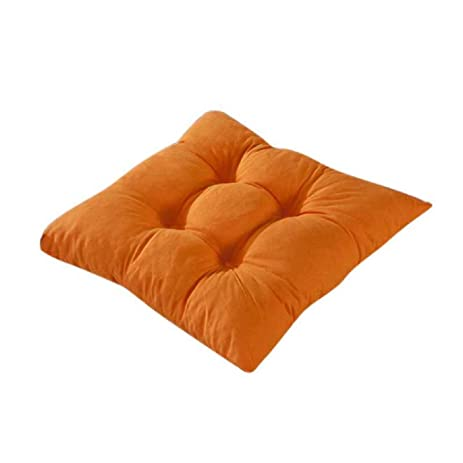 ABC® Indoor Garden Patio Home Kitchen Office Chair Pads Seat Pads Cushion ( Orange)