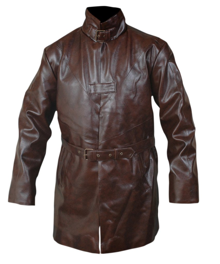 F&H Men's Watch Dogs Aiden Pearce Trench Coat 5XL Brown