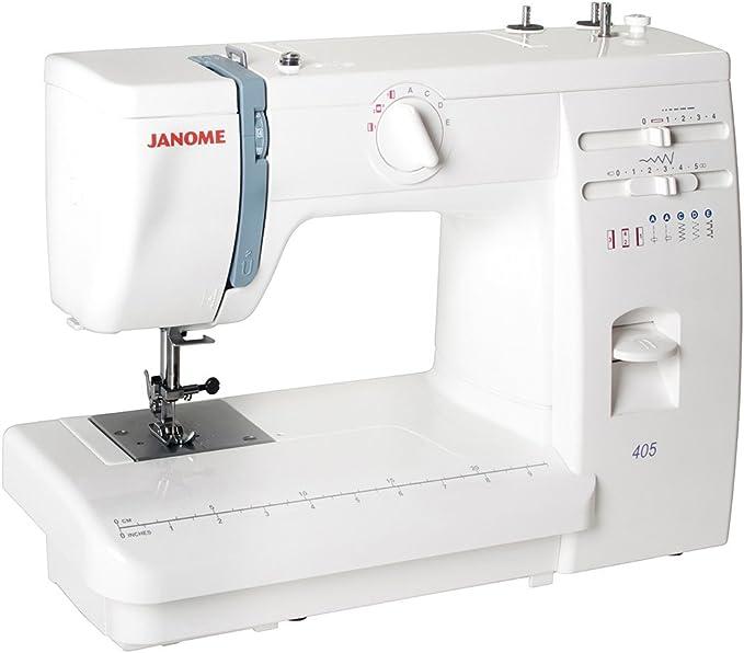Máquina de coser JANOME 405: Amazon.es: Hogar