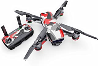 product image for Signal Decal for Drone DJI Spark Kit - Includes Drone Skin, Controller Skin and 1 Battery Skin