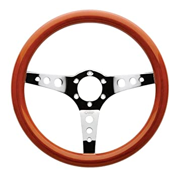 Od 2023 Le Omp Mugello Wooden Steering Wheel 350mm For Classic Car