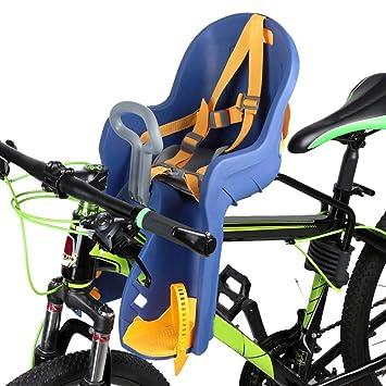 FAMLYJK Bicicleta Infantil Asiento Delantero Bicicleta niños ...