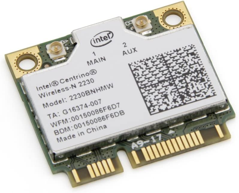 Intel IEEE 802.11n Wi-Fi and Bluetooth Combo Adapter 2230BNHMWWB