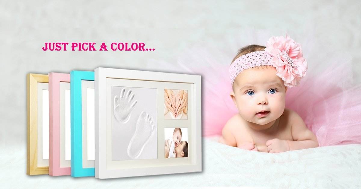 Amazon.com: Timeless Newborn Baby Hand and Footprint Kit and ...