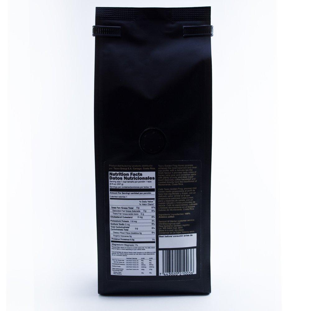 Amazon.com : Tsuru honey Specialty Coffee Golden Frog Honey Process from Monteverde, Costa Rica Medium Roast Ground, Sugar free, 8 oz : Grocery & Gourmet ...