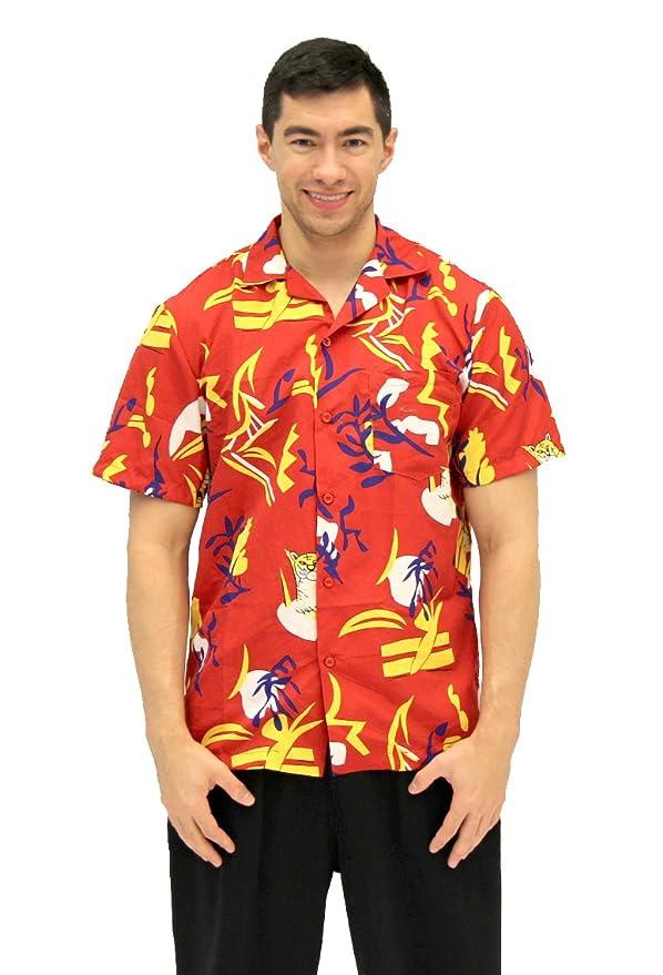 99f0a4bd Costume Agent Scarface Tony Montana Hawaiian Adult Costume Button Up Shirt  (Adult Small/Medium): Amazon.co.uk: Toys & Games