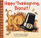 Celebrate Thanksgiving  with Biscuit!Biscuit has so much to be thankful for on his first Thanksgiving. How will he and the little girl spend this special day? Pull back the flaps to find out!