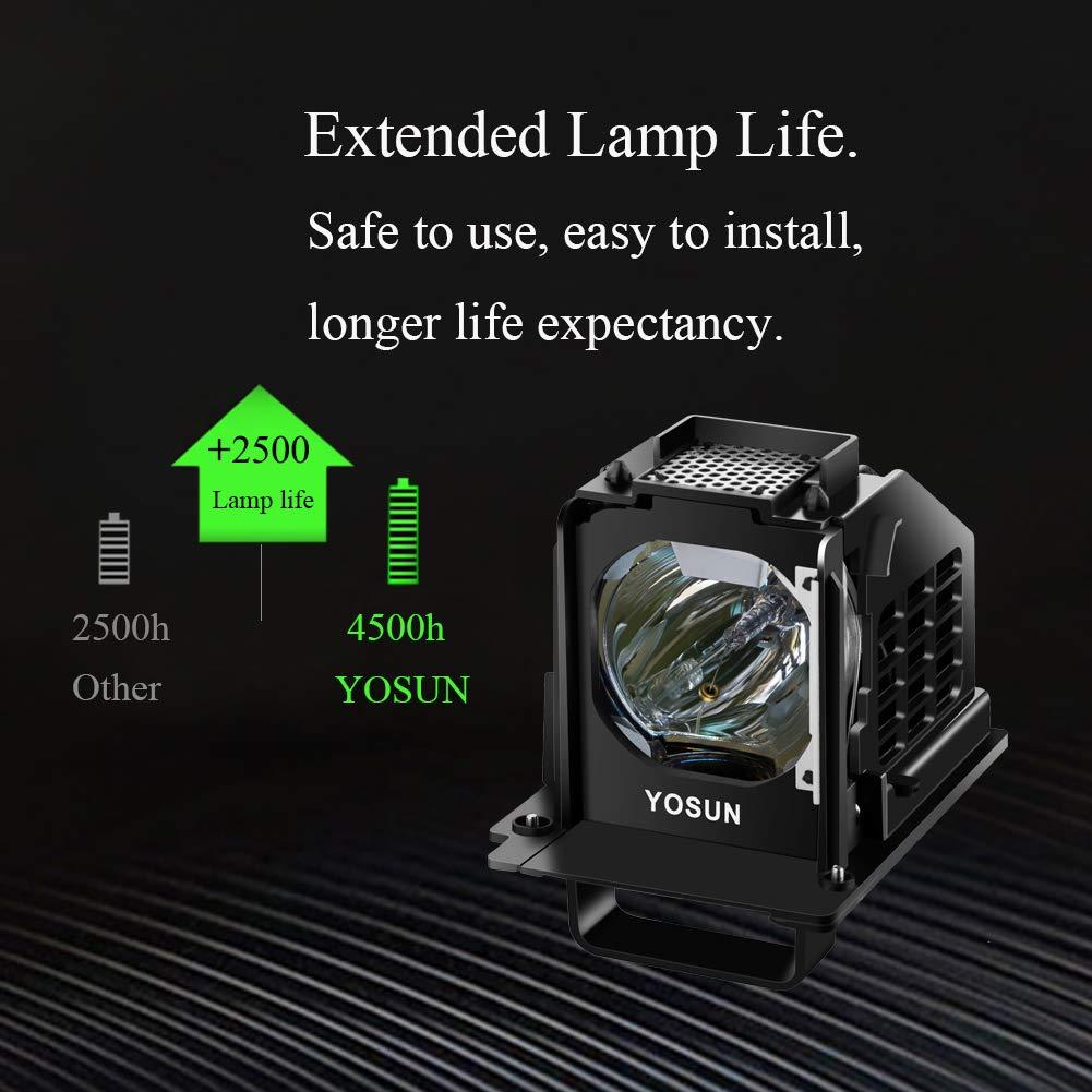 Amazon.com: YOSUN 915b441001 - Lámpara de repuesto para ...