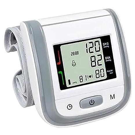 THEE Tensiómetro de Muñeca Automático Presión Arterial y Detección de Pulso Arrítmico
