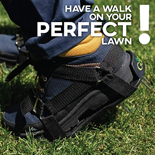 GoPPa Lawn Aerator Shoes – Easiest to USE Lawn Aerator Sandal, You only FIT Once. Ready for aerating Your Yard, Lawn, Roots & Grass – Comfort Design by GoPPa (Image #7)