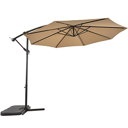 Amazon.com: SUNLONO - Paraguas para patio al aire libre de ...
