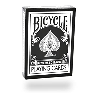 Baraja BICYCLE Colores Invertidos Negra (US Playing Card Company)