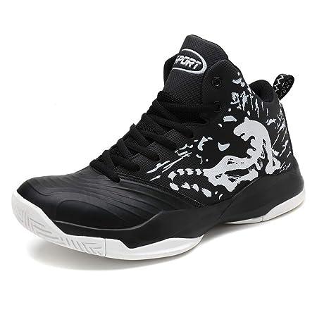 LFLONG - Zapatillas de Baloncesto para Hombre, de Moda, de Alta ...