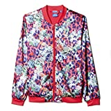 adidas Girls Originals S Rose Satin Jacket #S96108 (M)
