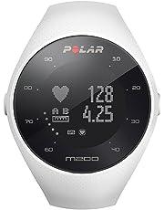 Polar M200 M200-Reloj de Carrera con GPS y frecuencia cardíaca en la muñeca, Color Negro, Unisex Adulto