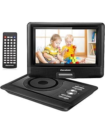 Excelvan Reproductor de DVD portátil con Pantalla TFT LED de 10,5