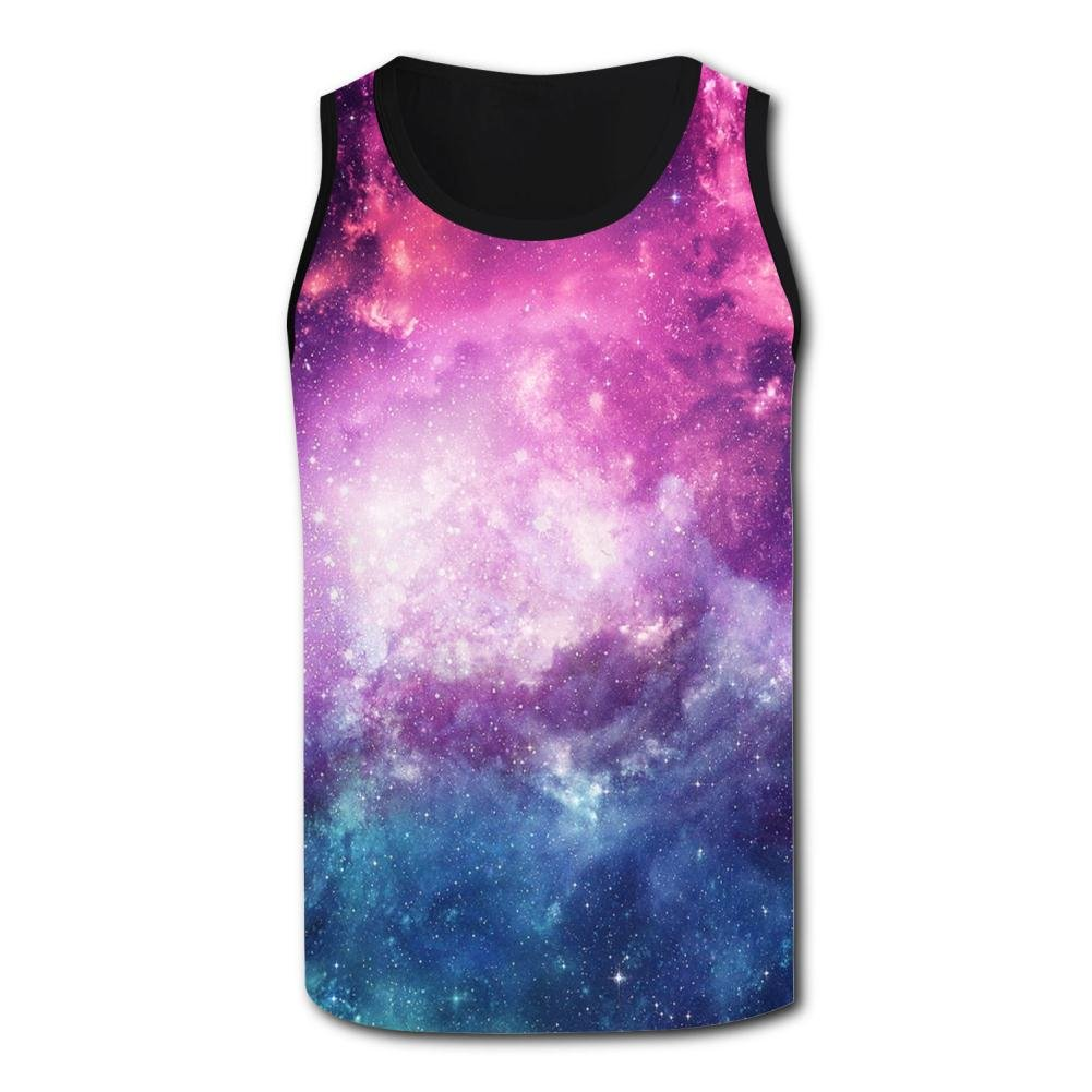 ZALOA Galaxy Tunes,Movement Tank Tops for Men
