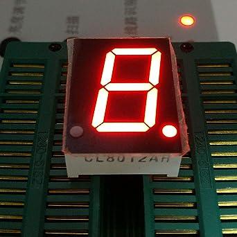 "New 0.8/"" 4 Bits Digital Tube LED Segment Display Module Red Common Anode"