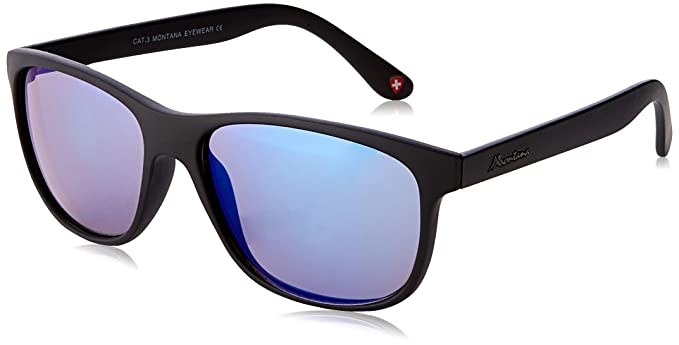 Sunoptic Unisex adulto Montana Gafas de sol, Negro (Black ...