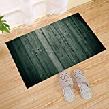 Antique Wood Plank Texture Striped Large Door Mat, Front Door Mat Large Outdoor Indoor Entrance Door Mat - Waterproof Low-Key Door Mat Fashion Welcome Mat Garage Garden Snow Shovel Front Door Mat