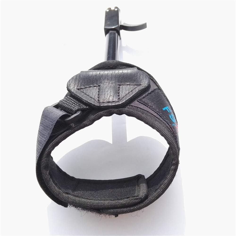 MILAEM Regolabile Grilletto di Rilascio dellArco Composto con Cinturino da Polso Fibbia Calibro Rotante da 360 Gradi Tiro grilletto Accessori per tiro con LArco