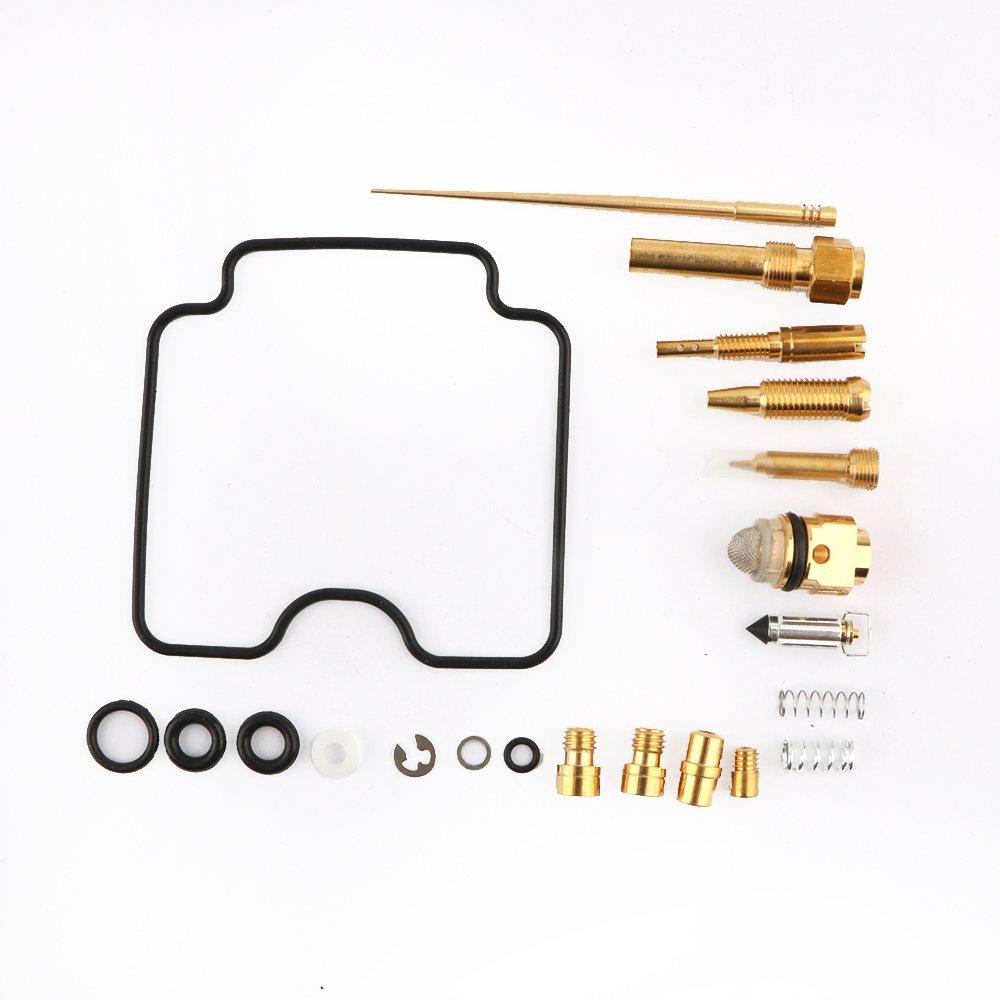Carburetor Repair Kit Carb Rebuild Kit For Yamaha Grizzly 660 YFM660FW 4x4 2002-2005 By Mopasen